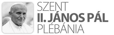 II. Szent János Pál Plébánia -